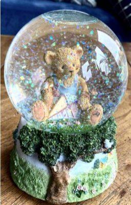 Rakhi Gift - Glitter Globes