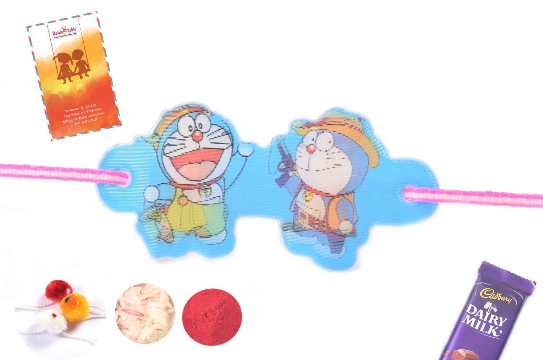 3D Doraemon Chhota Bheem Rakhi 1