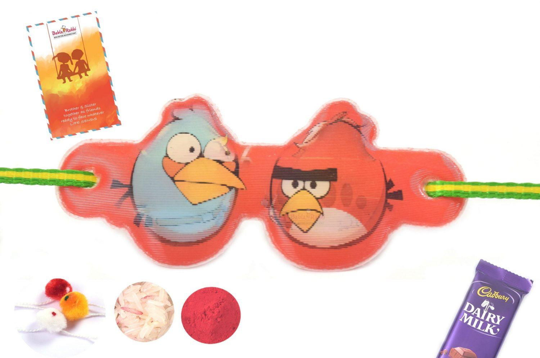 3D Angry Bird Red Rakhi 1