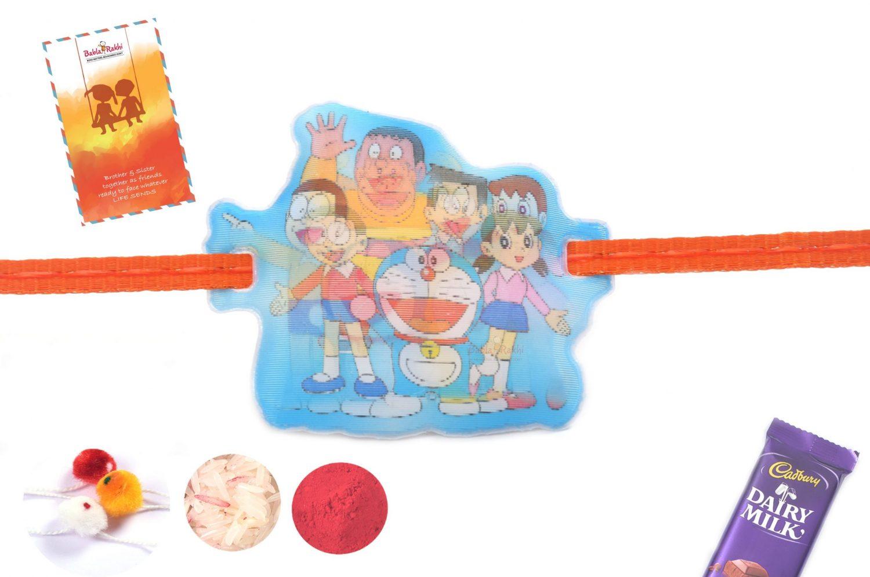 3D Doraemon Gang Rakhi 1