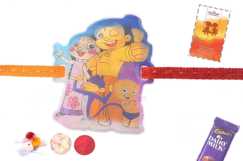 3D Chhota Bheem-Bal Hanuman Rakhi 1