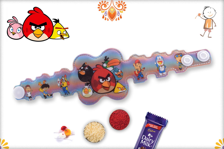 3D Angry Birds Group Rakhi 1