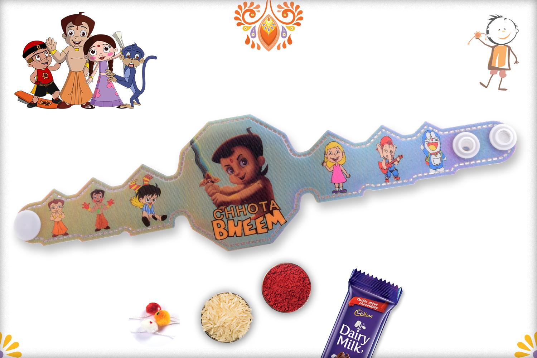 3D Chotta Bheem Fighing Mode Rakhi 1