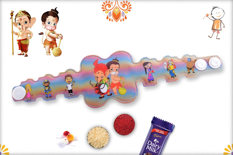 3D Ganesha Dual Avtar Rakhi 1