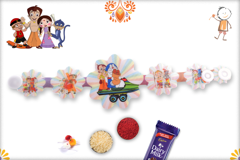 3D Foodie Duo Rakhi 1