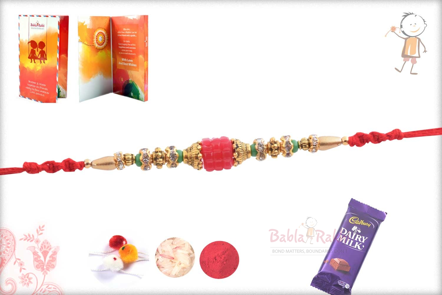 Exclusive Pink Bead with Diamonds 3