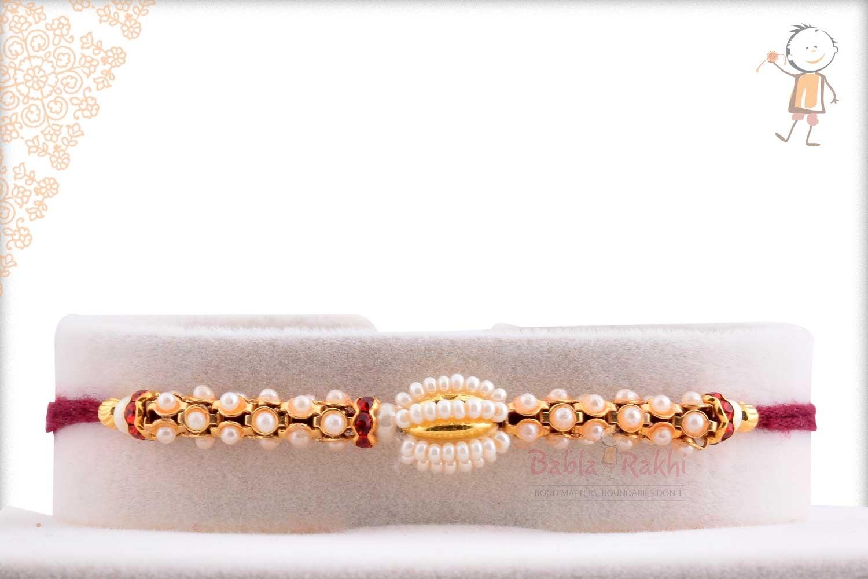 Antique Pearl Rakhi 1