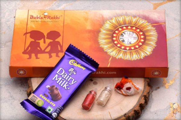 Send Rakhi to India with Exclusive Babla Rakhi box