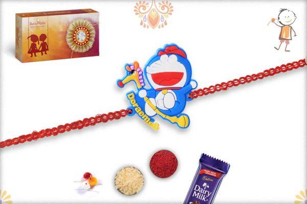 Naughty Doraemon Kids Rakhi - Babla Rakhi