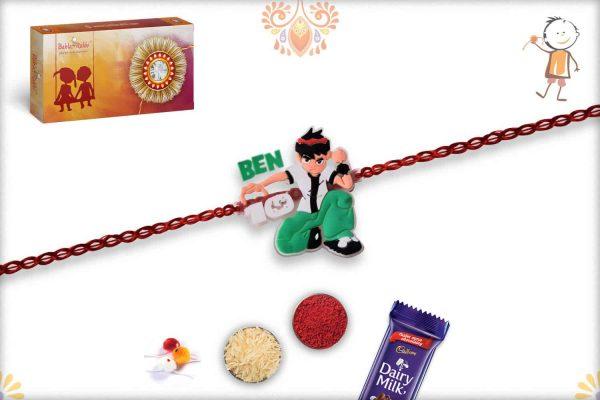 Super Ben 10 Kids Rakhi - Babla Rakhi