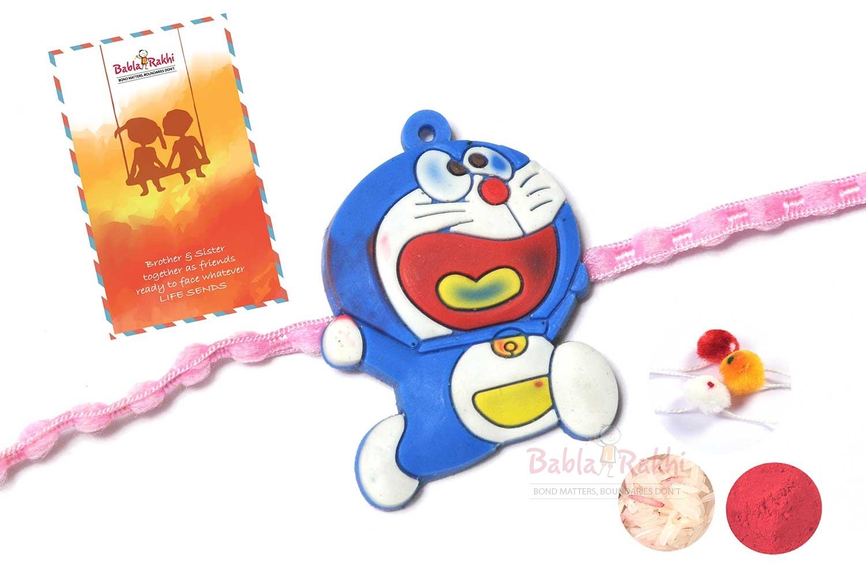 Doraemon Rubber Rakhi 1