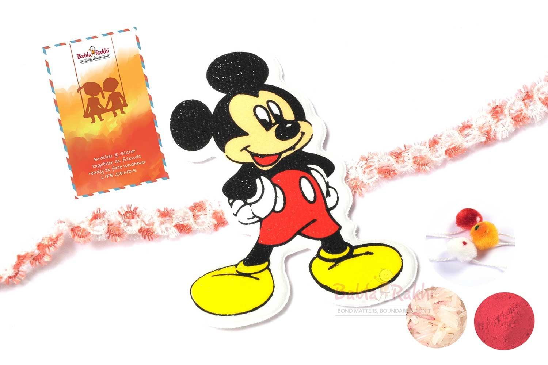 Mickey Mouse Rakhi 1