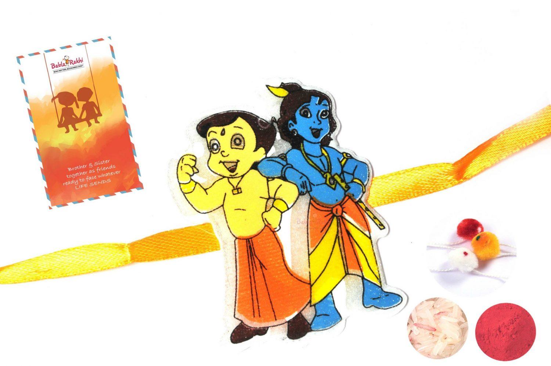 Chota Bheem and Little Krishna Rakhi 1