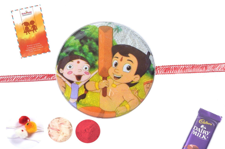 Chota Bheem and Beautiful Chutki Rakhi 1