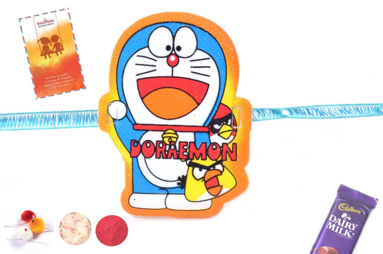 Glittery Doraemon Rakhi 1