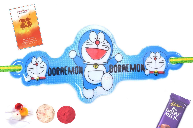 Cool Doraemon Blue Rakhi 1