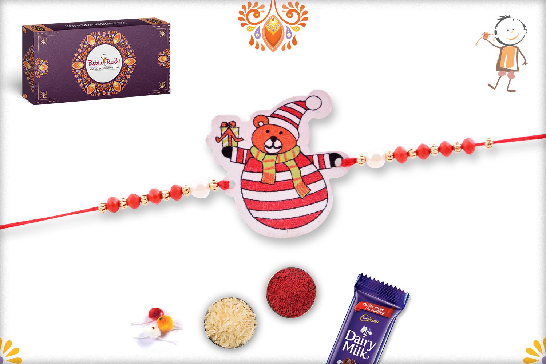 Red Igloo with Gifts Rakhi 1