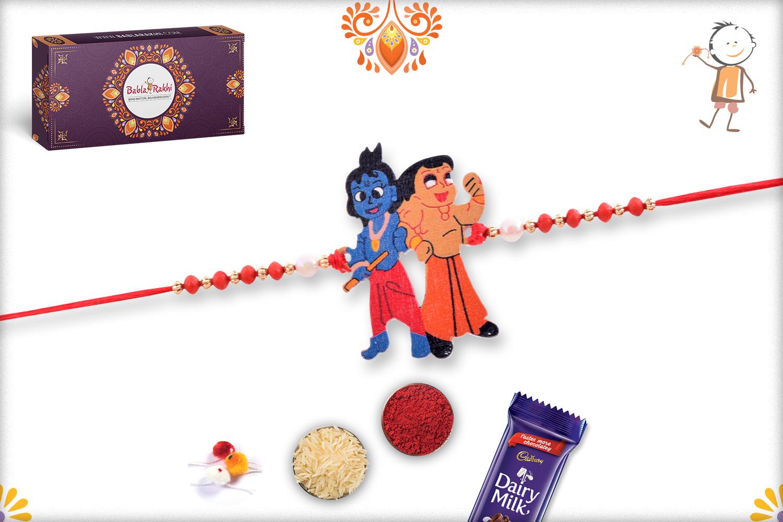 Devotional Duo of Krishna Bheem Rakhi 1