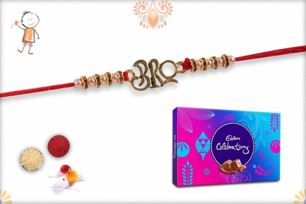 Bro Rakhi with Cadbury Celebrations (Big) - Babla Rakhi