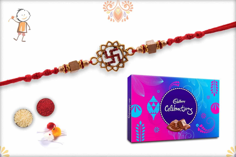 Rakhi with Cadbury Celebrations (Big) - Babla Rakhi
