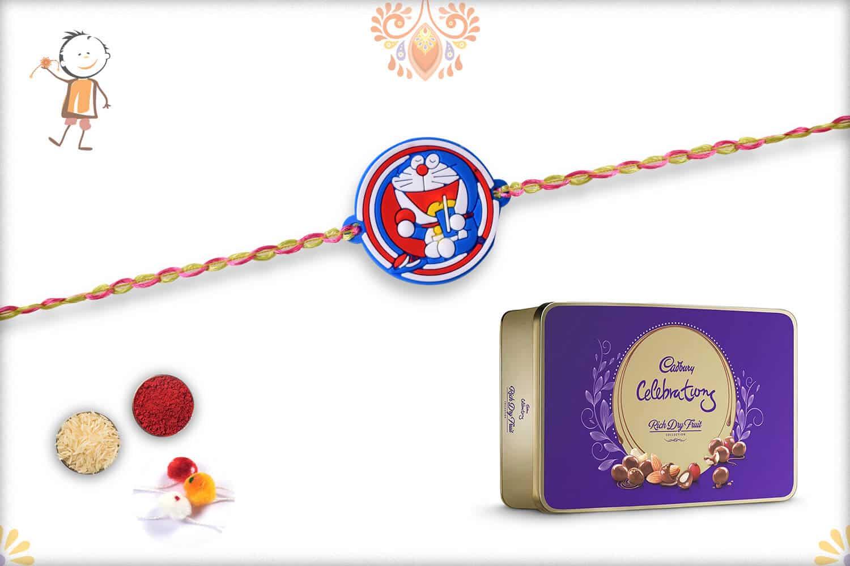 Kids Rakhi with Cadbury Celebrations Rich Dry Fruits