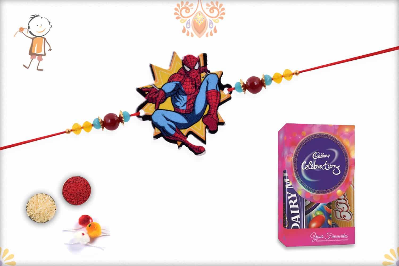 Kids Rakhi with Cadbury Celebrations (Small) - Babla Rakhi