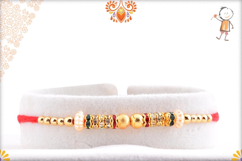 Classic And Elegant Multi Color Rakhi 1