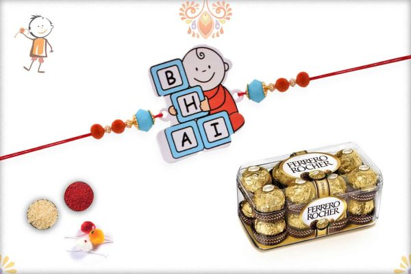 Kids Rakhi with Ferrero Rocher (16) - Babla Rakhi