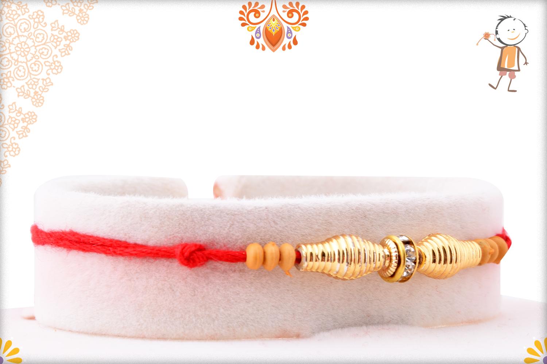 Royal And Unique Golden Rakhi 2