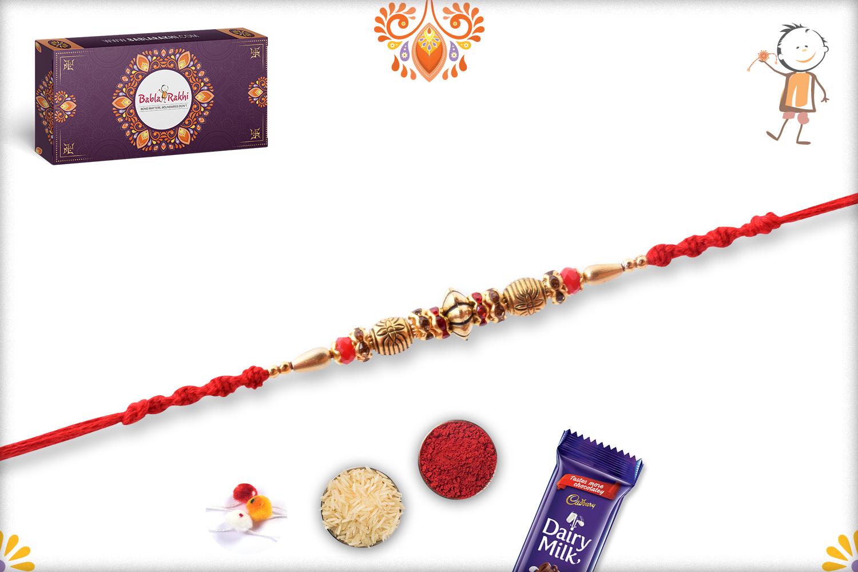 Classic Golden Rakhi 3