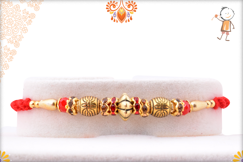 Classic Golden Rakhi 1