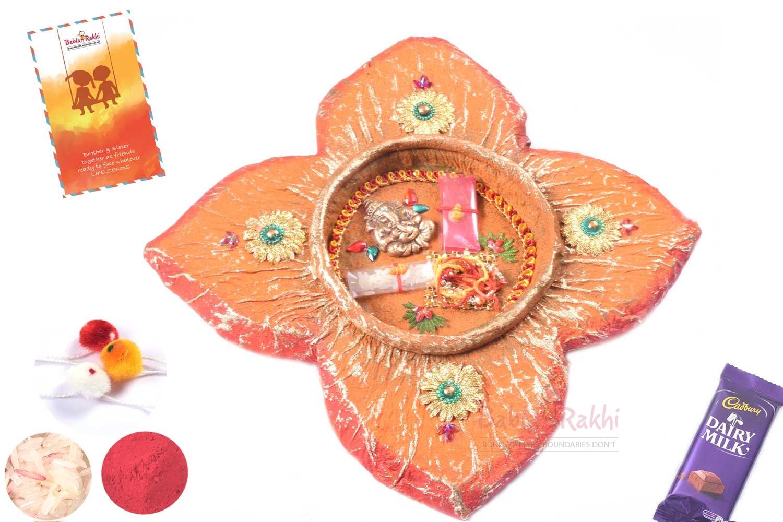 Divine Ganpati Rakhi Thali 1