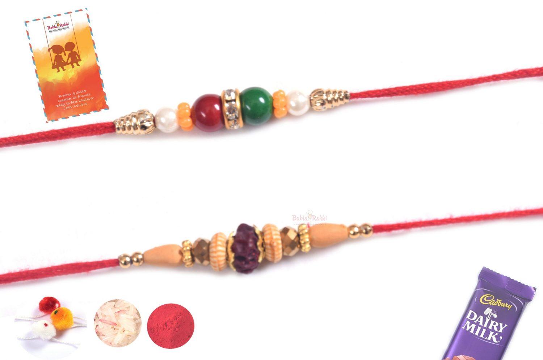 2 set rakhi TRS05 1