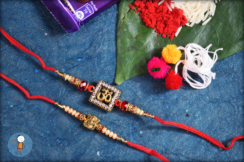 2 set rakhi TRS36 1