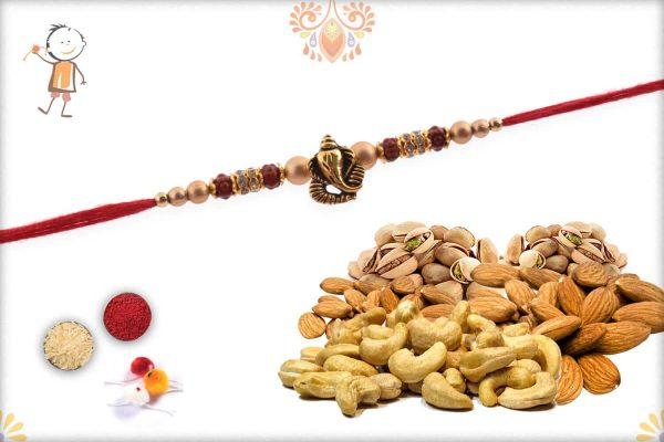Rakhi With Badam-Kaju-Pista - Babla Rakhi