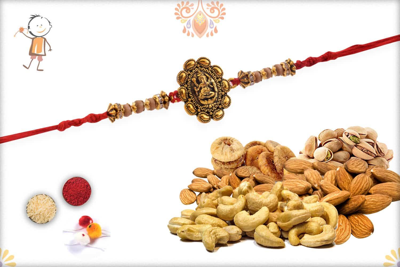 Rakhi With Badam-Kaju-Pista-Anjeer - Babla Rakhi