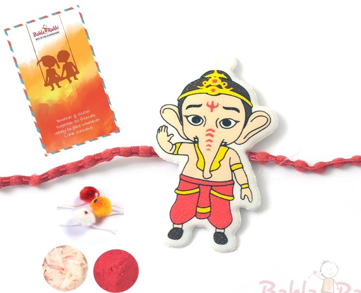 Bal Ganesh Rakhi 1