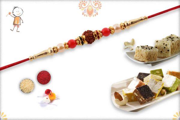 Rakhi with Kaju Maisur & Mix Bites - Babla Rakhi