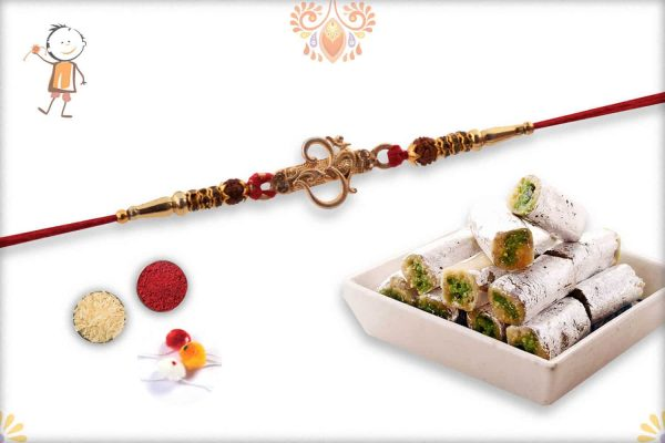 Rakhi with Pista Roll - Babla Rakhi