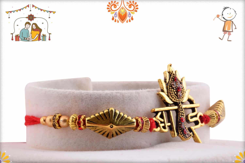 Exclusive Bhai Rakhi with Designer Beads | Send Rakhi Gifts Online 2