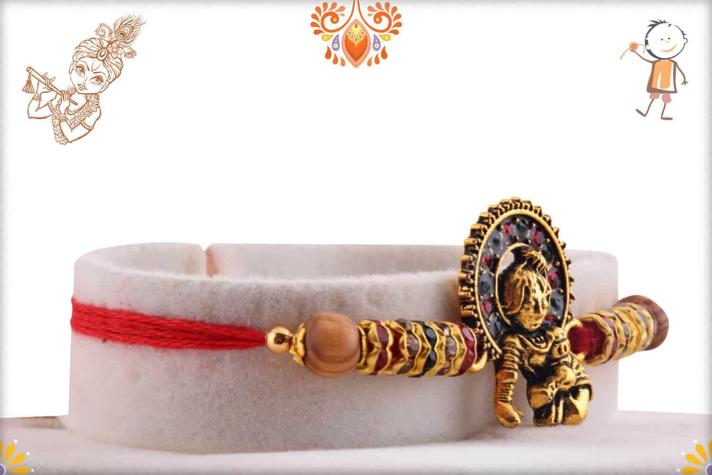 Exclusive Bal Krishna Rakhi with Diamonds 2