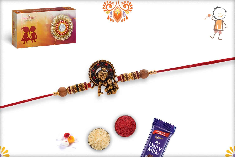 Exclusive Bal Krishna Rakhi with Diamonds 3