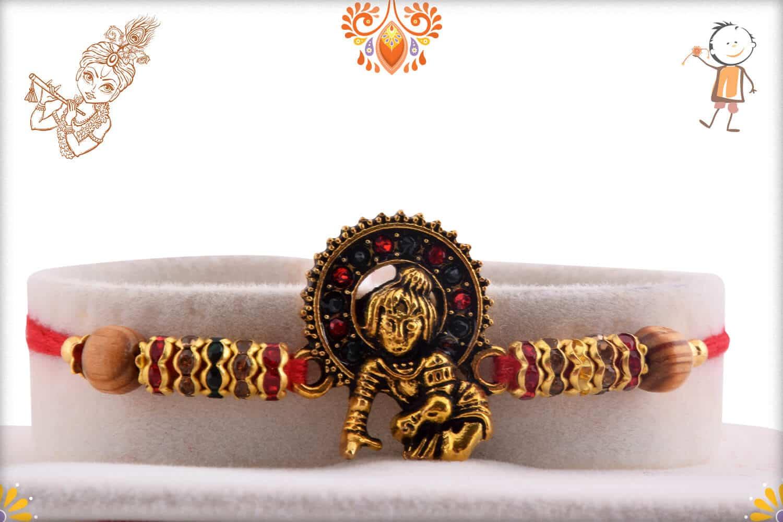 Exclusive Bal Krishna Rakhi with Diamonds 1