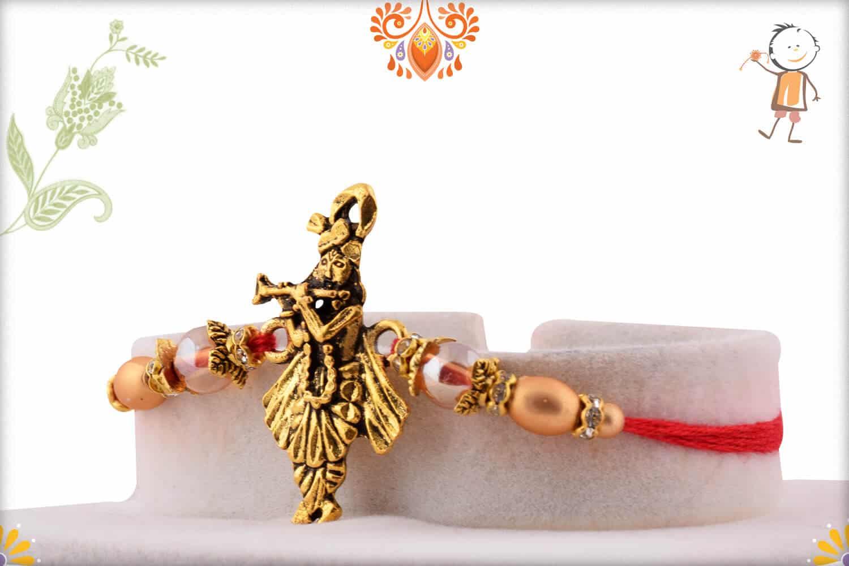 Beautiful Murlimanohar Rakhi   Send Rakhi Gifts Online 2