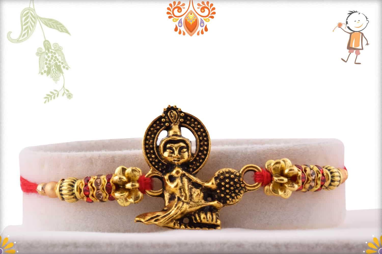 Exclusive Buddha Rakhi | Send Rakhi Gifts Online 1