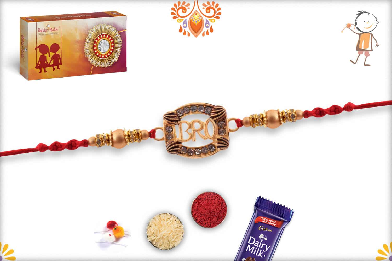 Exclusive Bro Rakhi with Diamonds   Send Rakhi Gifts Online 2