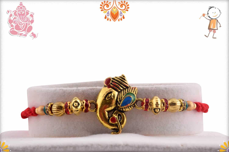 Rakhi with Kaju Maisur | Send Rakhi Gifts Online 1