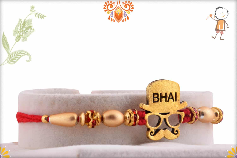 Dashing Mustache Bhai Rakhi   Send Rakhi Gifts Online 1