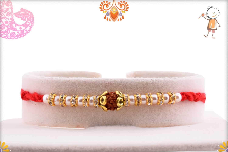 Rakhi With Badam-Kaju | Send Rakhi Gifts Online 1