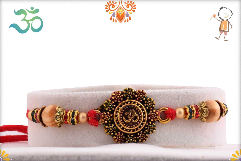 Rakhi with Rajwadi Ladoo | Send Rakhi Gifts Online 1